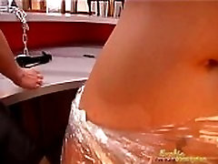 Pussy Clamps Treatment For Sexy Female Slave