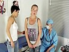 Special gyno exam for blonde girl