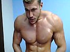 REAL SELF WORSHIP, PECS, ABS, BICEPS &amp MUSCLE COCK