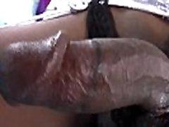 Stockings ebony shemale