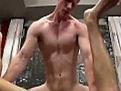 Straight amateur hunk getting fucked anally for cash