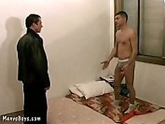Hunky daddy sexed up with some steamy gay fucking