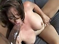 Horny MILF fucks young black stud and gets orgasm 5