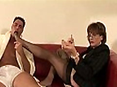 Mature Lady Sonia feet licked