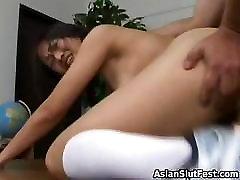Asian Slut Nyomi Sucks And Fuck