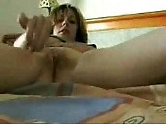 Az anya egyéni rögzített maszturbál. Nagy lopott videó