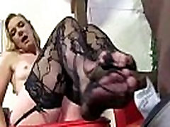 Black Meat White Feet - Sex with legs - foot fetish 21