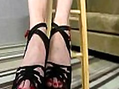Black Meat White Feet - Sex with legs - foot fetish 30