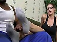 Black Meat White Feet - Sex with legs - foot fetish 07