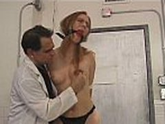 Breasts poked and prodded