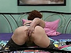 Naughty mature woman going crazy