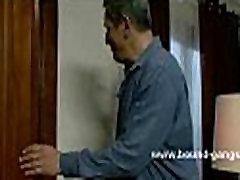 Maid brings boyfriend home at boss