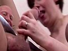 Hungry mature stockings bitch