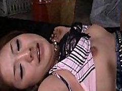 Karin Tsubaki Lovely Asian model rides a huge dick