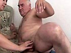 FAT TEEN FUCKS WITH OLD GUY !!