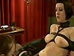 Hot pretty girl dominated in extreme rose dap sex