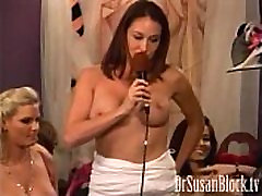 Penthouse Pet Ryan Keely masturbating with vibrator