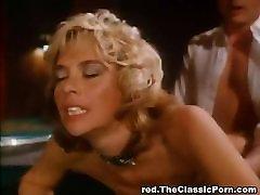 Retro fuck movie on the poker table