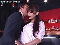 secretary gets fingerbanged in her panties
