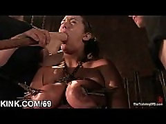 Hot pretty girl dominated in extreme sexy milf xtacc sex