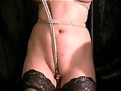Cruel Asian Pussy Bondage and Forced Orgasm