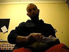 Self BallBusting - First Vid