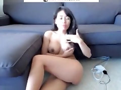 Exotic Webcam movie with Big Tits, Asian scenes
