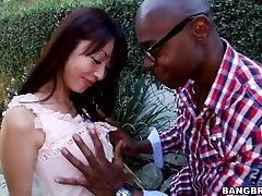 Hot asian Marica Hase has an interracial sex