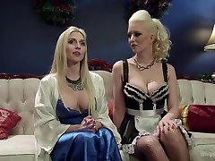 Crazy lesbian, anal sex video with horny pornstars Cherry Torn and Christie Stevens from Whippedass