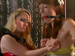 Exotic lesbian, bdsm adult clip with horny pornstars Emma Haize and Aiden Starr from Whippedass