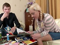 Crazy pornstar in fabulous small tits, blowjob porn video
