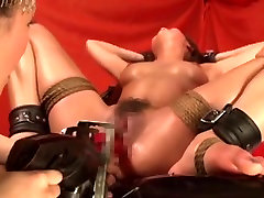 Adorable Asian lesbian sluts in perverted games