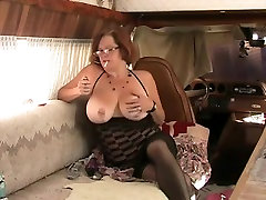 Solo 4 Older Redhead with Large Tits