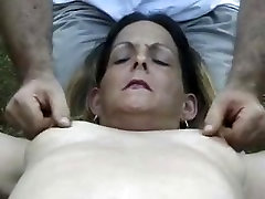 Mature submissive wife tortured by her husband