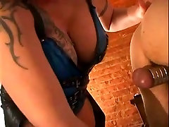 Mature man enjoys cock and ball sexual punishment
