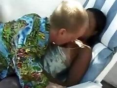 Midget bangs a black woman -