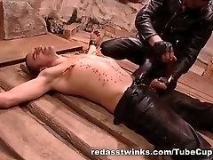 Kinky gay get bondaged