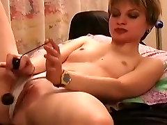 Amateur Russian sluts screwed hard at home