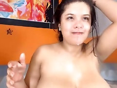 Pregnant girl gets fucked in the ass good