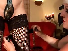 BDSM Lesbian and Chastity belt