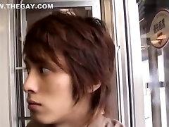 Horny Asian homosexual guys in Crazy rimming, twinks JAV scene