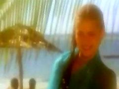Sexy blonde vintage hairy teen girl fucked on beach