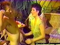 Digitized Vintage 70s Porn Video Tape