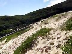 nude beach and dunes fun