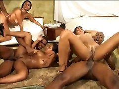 Crazy Group Sex movie with Anal,Black and Ebony scenes