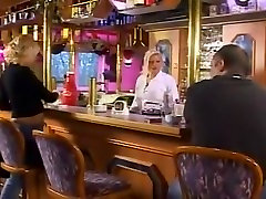 German pornstar Marleen fucking in black stockings