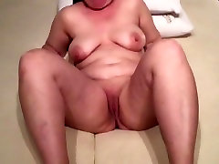 Nice Mature BBW playing with her pussy