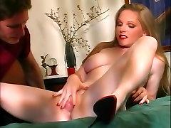 Fabulous pornstar Cherry Mirage in best cunnilingus, brunette porn movie