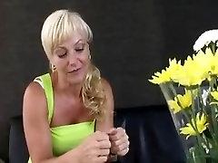 Blonde anal MILF