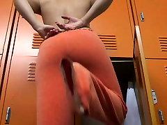 Voyeur girl in sheer panty